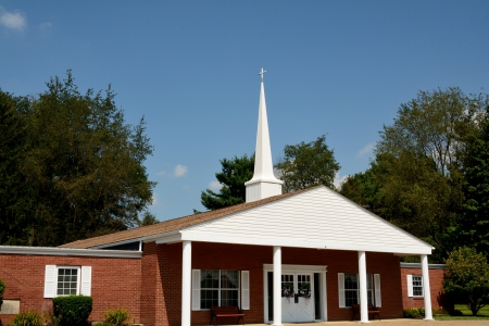 Little Country Church - jesus, Little Country Church, crucifix, country church, cross, little church