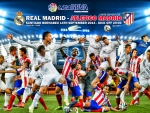 REAL MADRID vs ATLETICO MADRID WALLPAPER