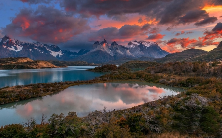 Breathtaking Mountain Lakes - Lakes, Mountains, Nature, Sunsets