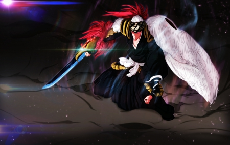 Sōō Zabimaru - Shinigami, Anime, Renji Abarai, Bleach, Manga, Soo Zabimaru, Soul, Vice Captain, Thousand Year Blood War Arc, 6th Division, Zanpakuto, Bankai