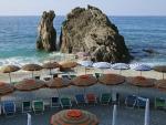 Beach in Cinque Terre, Italy