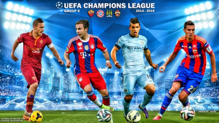 CHAMPIONS LEAGUE 2014-15 GROUP E - city wallpaper, Totti, champions league wallpaper, Francesco Totti, city, as roma, bayern munchen, Manchester City wallpaper, sergio aguero wallpaper, Totti wallpaper, man city, man city wallpaper, mario gotze wallpaper, as roma wallpaper, champions league, Manchester City, fc bayern, sergio aguero, bayern munchen wallpaper