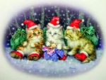 Triple Santas