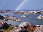 Rainbow over Swedish Islands