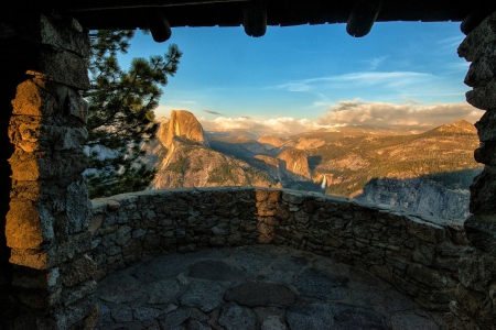 Yosemite National Park, Sierra Nevada - california, usa, summer, sunshine, landscape