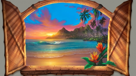 Window to Paradise