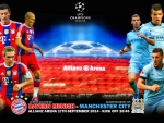 BAYERN MUNICH - MANCHESTER CITY CHAMPIONS LEAGUE 2014