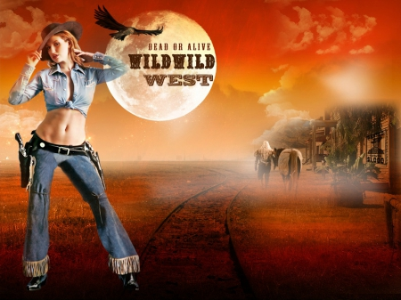 Wild Wild West Cowgirls Wallpapers And Images Desktop