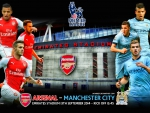 ARSENAL - MANCHESTER CITY PREMIER LEAGUE 2014