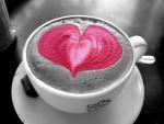 Coffee in Strawberry Foam
