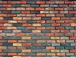 Colored Brick Abstract