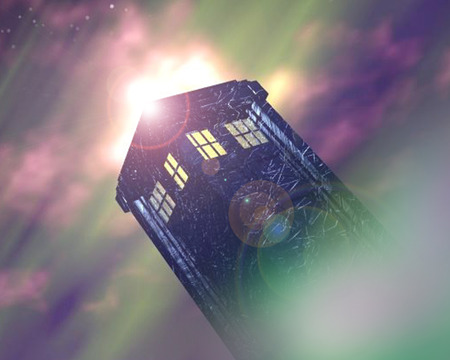 Enter the Doctor - doctor who, tardis, space, sci fi, tv