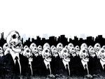 Dark Skull Men In Black
