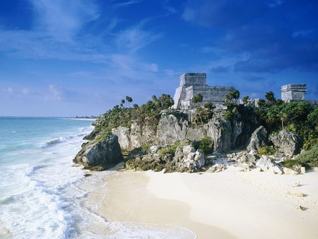 Mayan Civilization - beaches, mayan, coast, civilization, nature