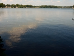 Scenic day on the lake