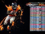 2014 Denver Broncos schedule