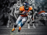 Montee Ball: Denver Broncos running back