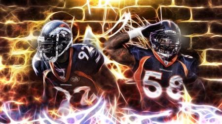Von Miller: Denver Broncos Outside