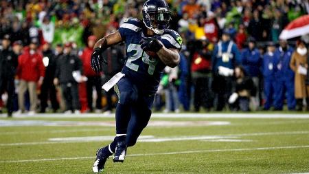 Marshawn Lynch Seattle Seahawks Running Back Beast Mode
