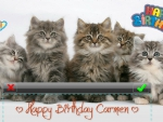 ♥ Happy Birthday Carmen (mbonilla) ♥