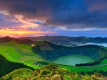 Sunset At Sao Miguel, Azores Islands