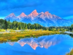 Grand Tetons, Snake River