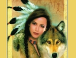 Spirit Of The Wolf~For Littlecloud