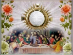 Last supper of JESUS