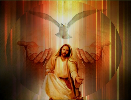 Father, Son and Holy Spirit - spirit, christ, jesus, god