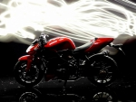 red ducati streetfighter