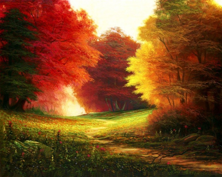Fall Colors Other Abstract Background Wallpapers On