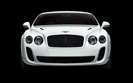 bentley continental supersports - continental, bentley, white, supersports