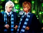 Blaise Zabini with Draco Malfoy