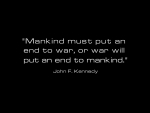 Quote by president John F kennedy