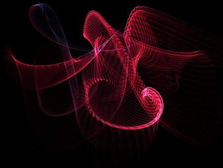 Roller Coaster - colored, colorful, light, apophysis, abstract, flame, render, background, fractals, pattern, fractal