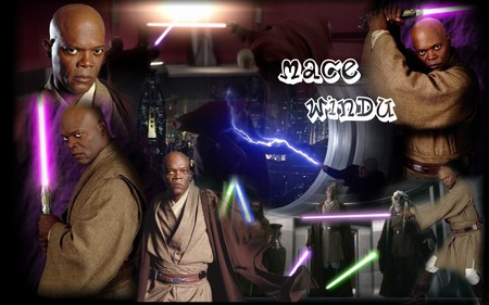 Mace Windu Montage Movies Entertainment Background Wallpapers On