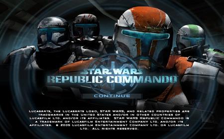 Republic Commando Startup Screen Star Wars Video Games Background Wallpapers On Desktop Nexus Image 184581