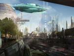cyberpunk metropolis