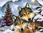 Winter Wolf Family F1