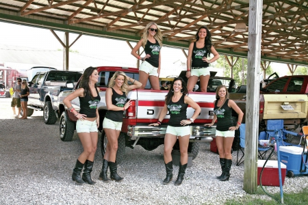 Diesel Girls - truck, boots, cowgirl, pickup