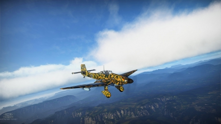 Ju-87 - game, war, aircraft, tech