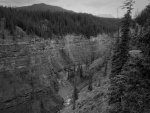 A canyon in Western Canada