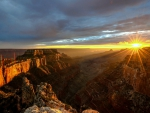Sunset on the Grand Canyons