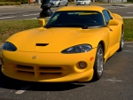 Yellow Dodge Viper