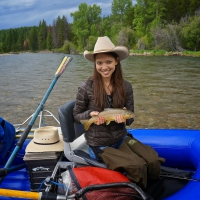 Cowgirl Fishing