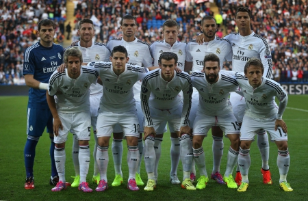 Real Madrid Squad Team