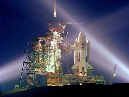 space shuttle columbia - launchpad, space, columbia, shuttle