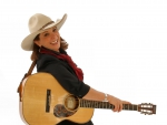 Cowgirl Guitar Picker