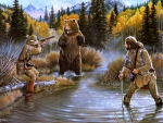 The bear hunters