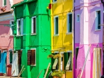 Brightly-Colored Houses